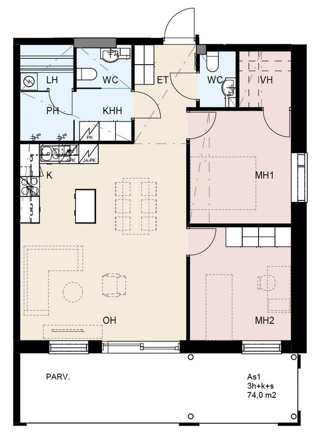 rakennus-kaseva-jyvaskyla-osmankaami-huoneisto-1-3-7-11